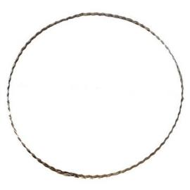 6780 202- metalen dichte ring gekarteld van 20cm doorsnee