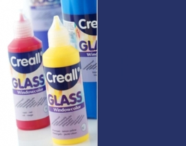 CE301800/0538- Creall Glass - glasstickerverf - window color - 80ML marineblauw