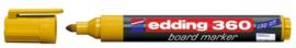 CE390360/0005- edding-360 boardmarker met punt van 1.5-3mm geel