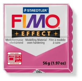 CE610303/0286- fimo effect 56gr gemstone robijnrood -286