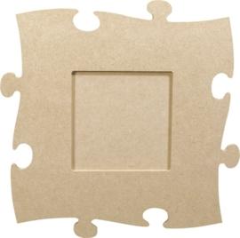 KN213270104- 3 stuks MDF puzzellijst van 24x24cm