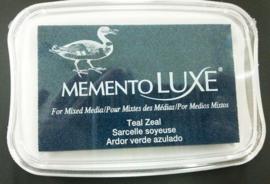 CE132020/5602- Memento Luxe inktkussen teal zeal