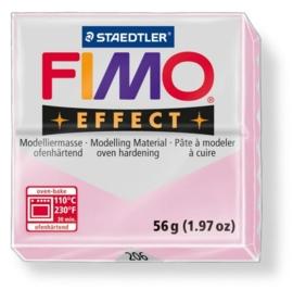 CE610303/0206- fimo effect 56gr gemstone roze quarz -206