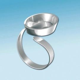 2152 134- Fimo ring ovaal verstelbaar