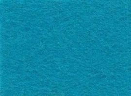 CE800300/0090- 10 vellen viltlapjes viscose van 20x30cm en 1mm dik turquoise