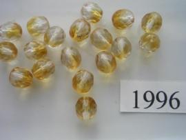 20 stuks 8 mm geslepen 1996