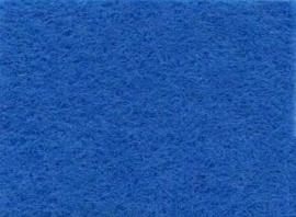 CE800300/0180- 10 vellen viltlapjes viscose van 20x30cm en 1mm dik middenblauw