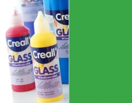 CE301800/0545- Creall Glass - glasstickerverf - window color - 80ML groen