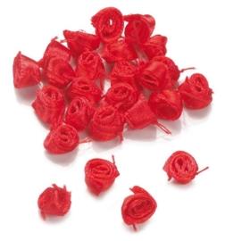 7611 050- 10gram (ruim 100stuks) decoratie bloemetjes roosjes van 1cm