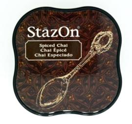 CE132021/4045- Stazon inktkussen midi spiced chai SZ-MID-45