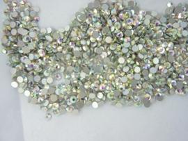000510- 1440 kristalsteentjes SS12 3.5mm crystal AB - SUPERLAGE PRIJS!