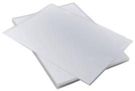CE301802/0000- 5 stuks Creall Glass werkplaatjes A4
