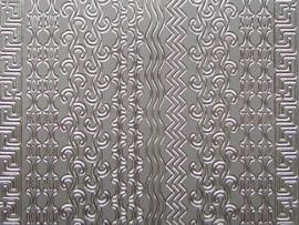 st 459HT- 9 soorten randjes zilver