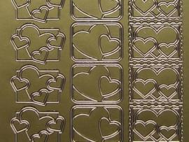 ST-261- hartjes sluitzegel goud 10x20cm