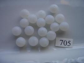 glaskralen 10mm rond 705 MAT