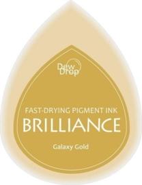 132019/1091- brilliance stempelkussen dew drops galaxy gold 3.5x5cm