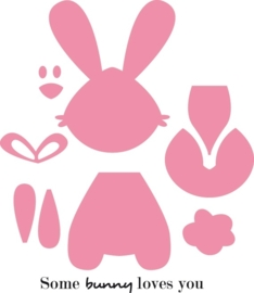 CE115638/1354- Marianne Design collectables bunny