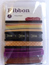 "5691- Cosmo cricket ribbons setje ""haunted"" OPRUIMING"