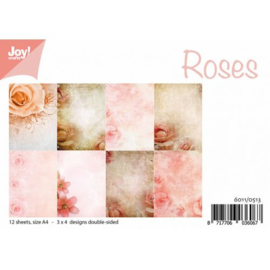 6011/0513 - 12 vellen set - rozen