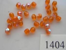 30 x tsjechische kristal facet geslepen glaskralen 4mm 1404