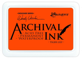 CE306014/5670- Ranger archival ink pad - tiger lily