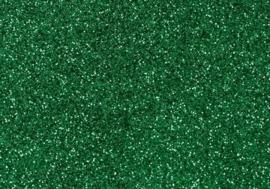 7904 248- magneetfolie 9x16cm donkergroen met glitter