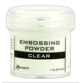 CE306300/7330- Ranger embossing powder 34ml - clear