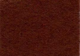 CE800300/0145- 10 vellen viltlapjes viscose van 20x30cm en 1mm dik donkerbruin