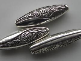 metalen kralen verzilverd 117465/0626