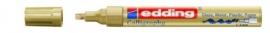 CE390755/0053- Edding-755 kalligrafie glanslak marker punt 1-4mm goud