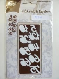 0002387- Joy Crafts stencil vintage flourishes - cijfers - OPRUIMING