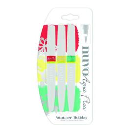 CE309908/6892- nuvo aqua flow pens - summer holidays 892N