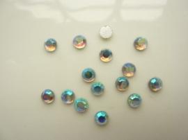 6138 373- 15 stuks AA-kwaliteit strass steentjes van 4.5mm opaal