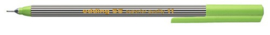 CE390055/0011- edding-55 fineliner met punt van 0.3mm lichtgroen