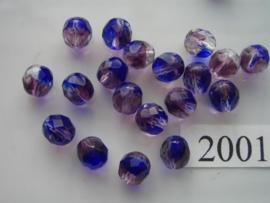 20 stuks 8 mm geslepen 2001