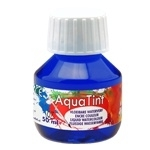 CE303500/5007- Collall AquaTint vloeibare waterverf 50ml ultramarijn