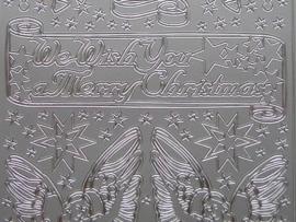 169- afbeeldingen divers zilver 10x20cm