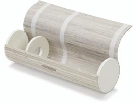 KN8735 404- houten flessendoos 10x35cm