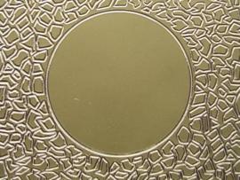 467- 2 x ornament goud