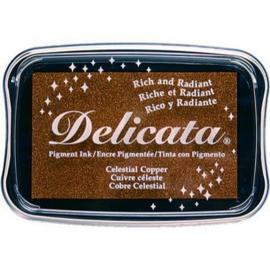 CE132024/0193- Delicata inktkussen metallic celestial copper