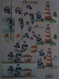 kn/392- A4 knipvel AANBIEDING Art Coupure 4004