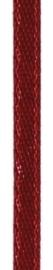 006302/0218- 4.5 meter satijnlint van 10mm breed op een rol donkerrood