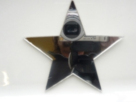 006000H- zelfklevend spiegeltje ca. 9x9cm ster OPRUIMING