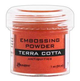 CE306320/7545- Ranger embossing powder 34ml - terra cotta