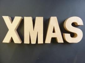 OPRUIMING - XMAS stevige decoratie 3D letters om zelf te versieren