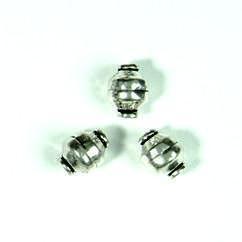 zware massieve metalen kraal 7mm 117465/0001