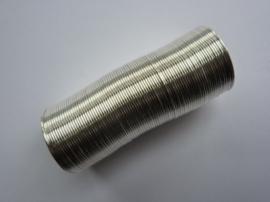 Memory Wire spiraaldraad -  20 mm. diameter  ca. 65 - 70 wikkels van 0.6mm-CHMW2-1