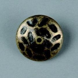 metalen kraal antiek goud 24x8mm 117465/2654