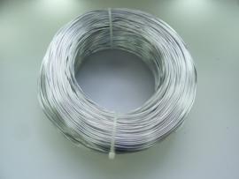 CH.R001-2 - 500 gram aluminiumdraad dikte 1,0 mm. - zilverkleur