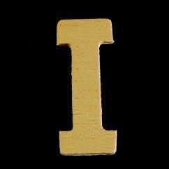 8735 615- 4cm houten letter I